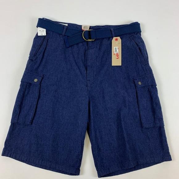 4320f722c2 Levi's Shorts | Levis Short Linen Cargo Size 38 | Poshmark